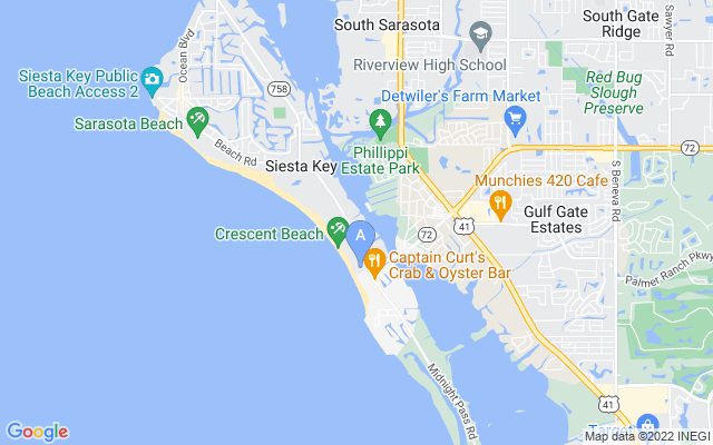 5663 Midnight Pass Rd #405 Sarasota Florida 34242 locatior map