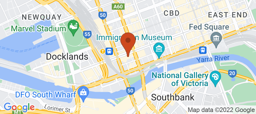 Map for 567 Collins Street, Melbourne VIC 3000, Australia