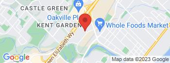 Google Map of 568+Argus+Rd%2COakville%2COntario+L6J+3J3