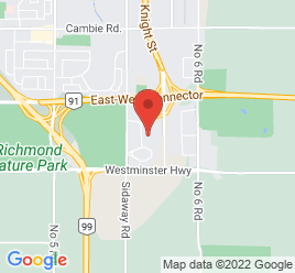 Google Map of 5680+Parkwood+Way%2CRichmond%2CBritish+Columbia+V6V+2M4