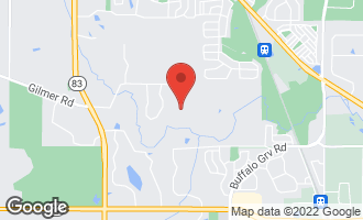 Map of 5687 Rosos Parkway LONG GROVE, IL 60047