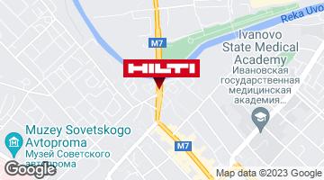 Get directions to Региональный представитель Hilti в г. Иваново
