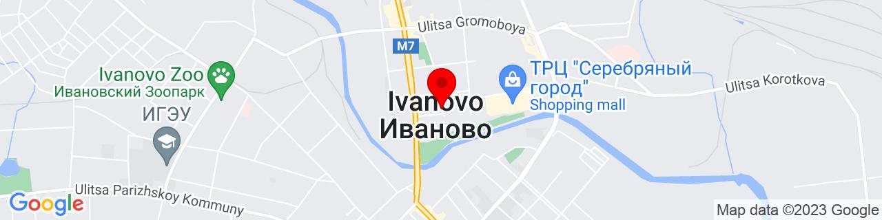 Google Map of 57.0050671, 40.97664529999997