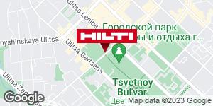 Get directions to Региональный представитель Hilti в г. Тюмень