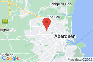 Aberdeen University Medical Library on the map