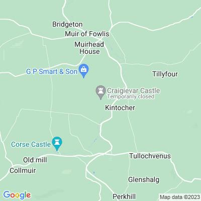 Craigievar Castle Location