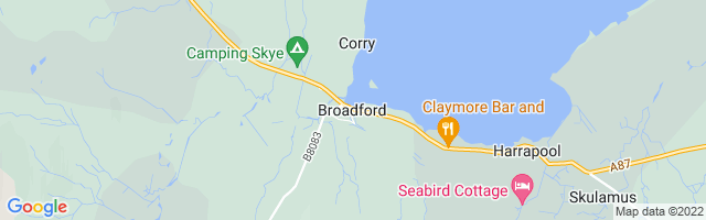 Map Of Broadford
