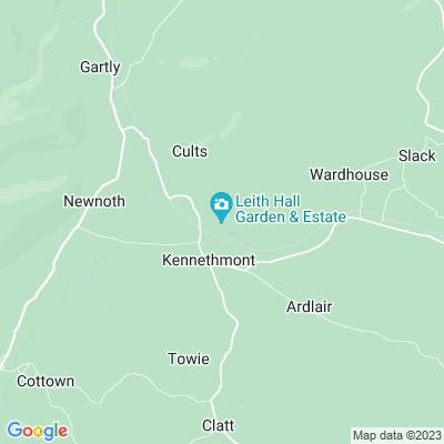 Leith Hall Location