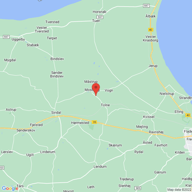 Tolne/Mosbjerg IF map
