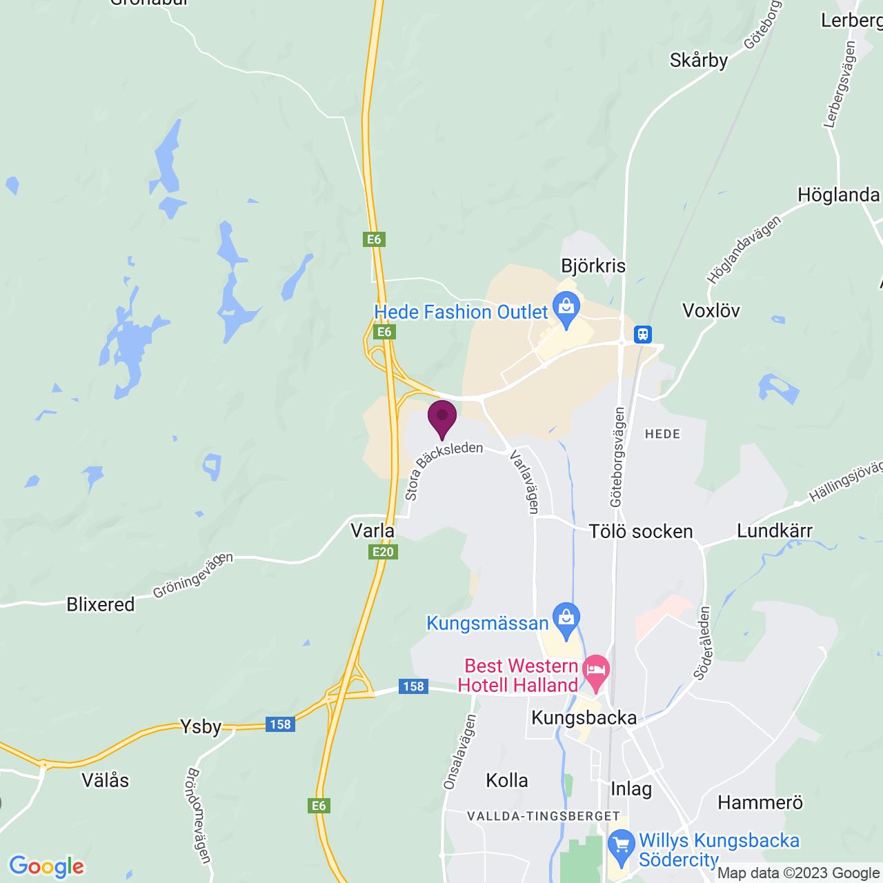 Karta över Energigatan 11