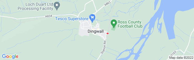 Map Of Dingwall