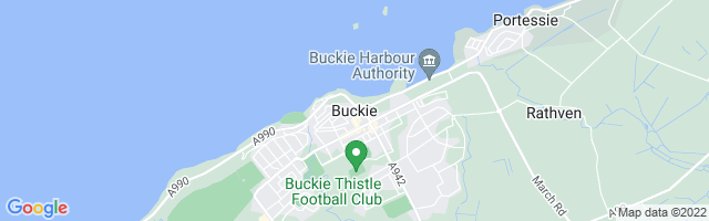 Map Of Buckie
