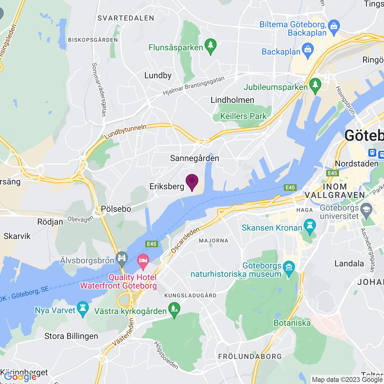 Karta över Sörhallstorget 10