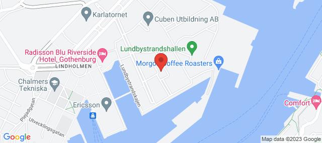 Bror Nilssons gata 5Karta över