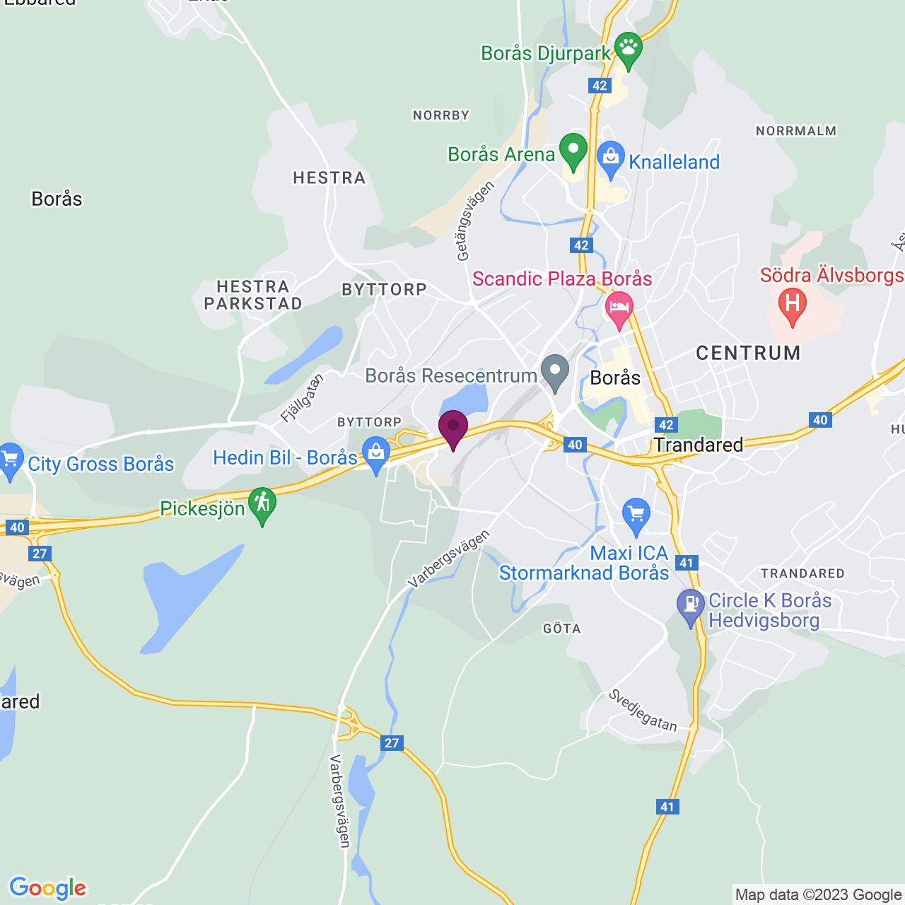 Karta över Hållingsgatan 15