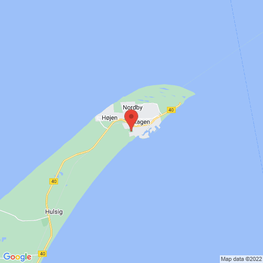 MINI SKAW CUP, SKAGEN 2018 map