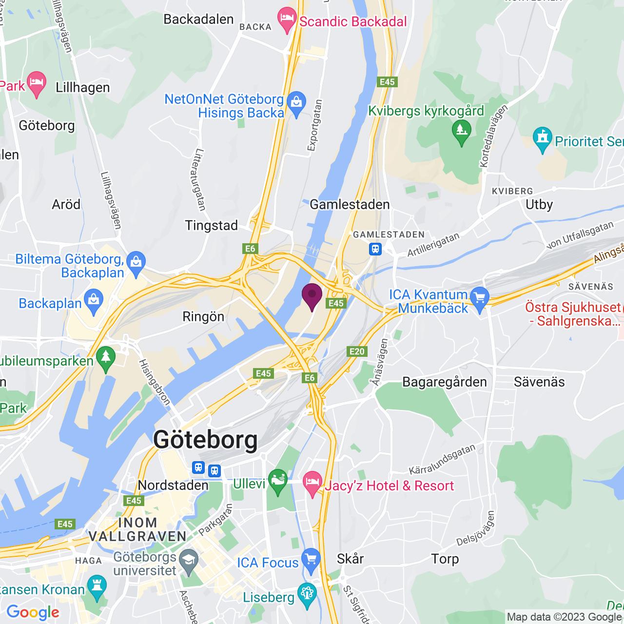 Kort över Marieholmsgatan 10