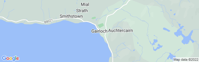 Map Of Gairloch