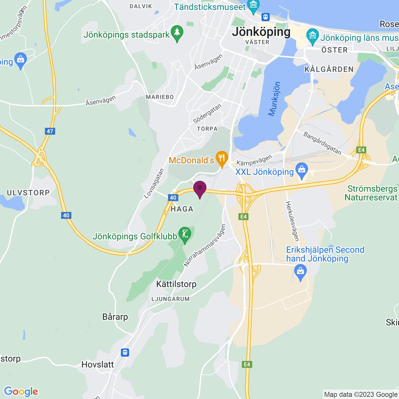 Map of Kindgrensgatan 3
