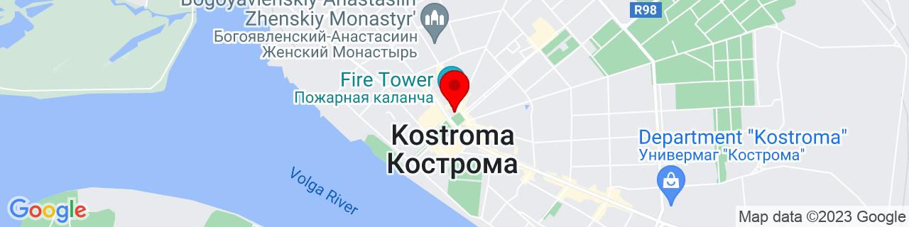 Google Map of 57.76832730417432, 40.926462471630884