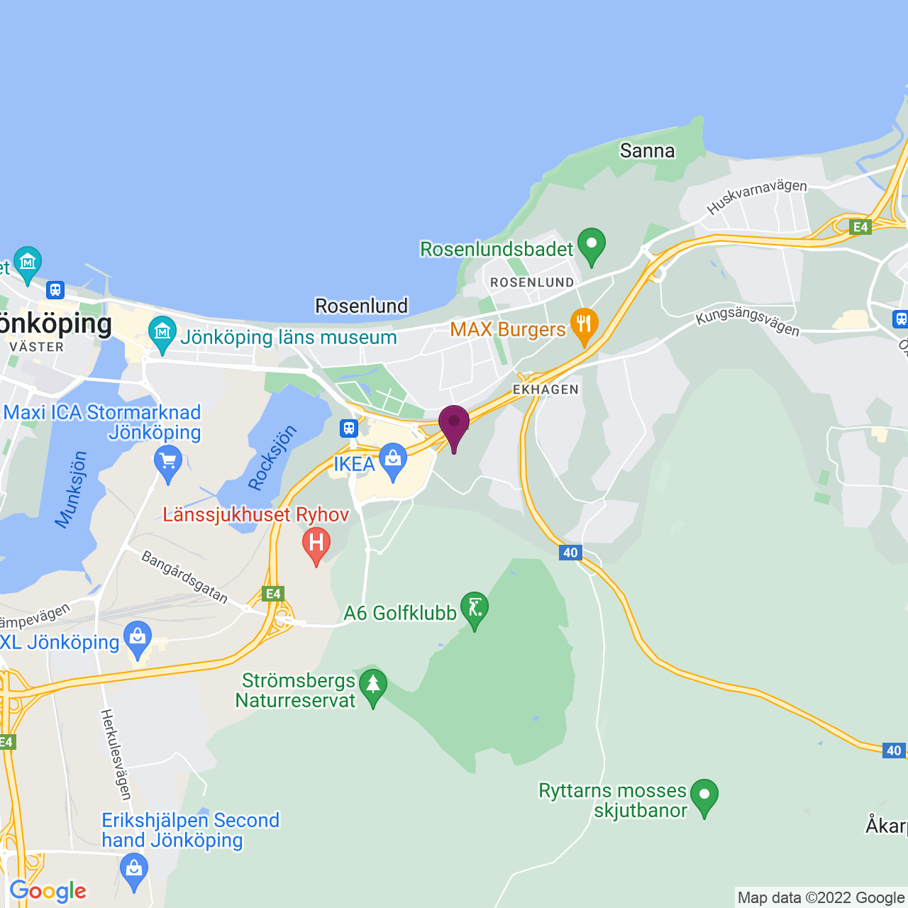 Karta över Bataljonsgatan 10