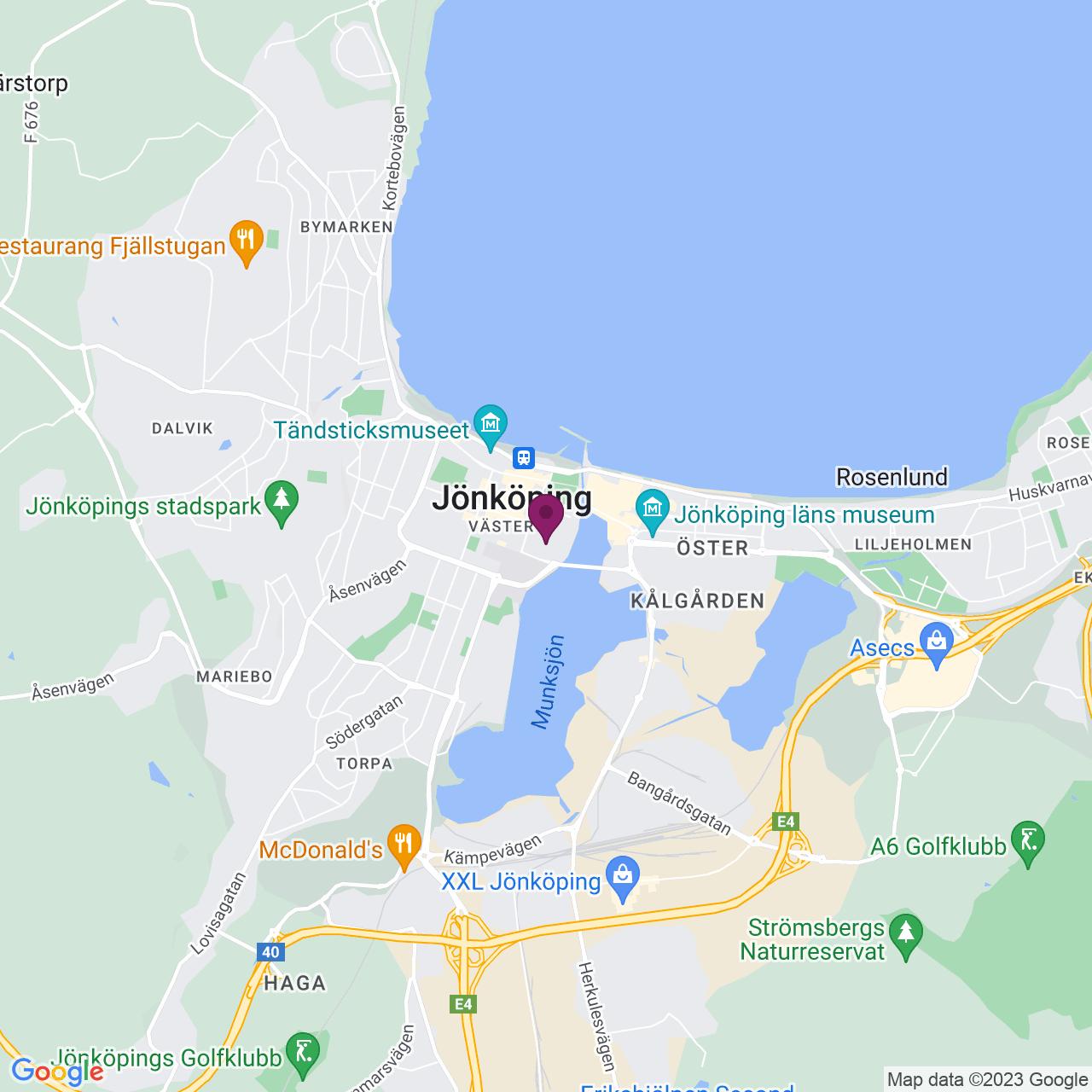 Map of Vallgatan 4-10