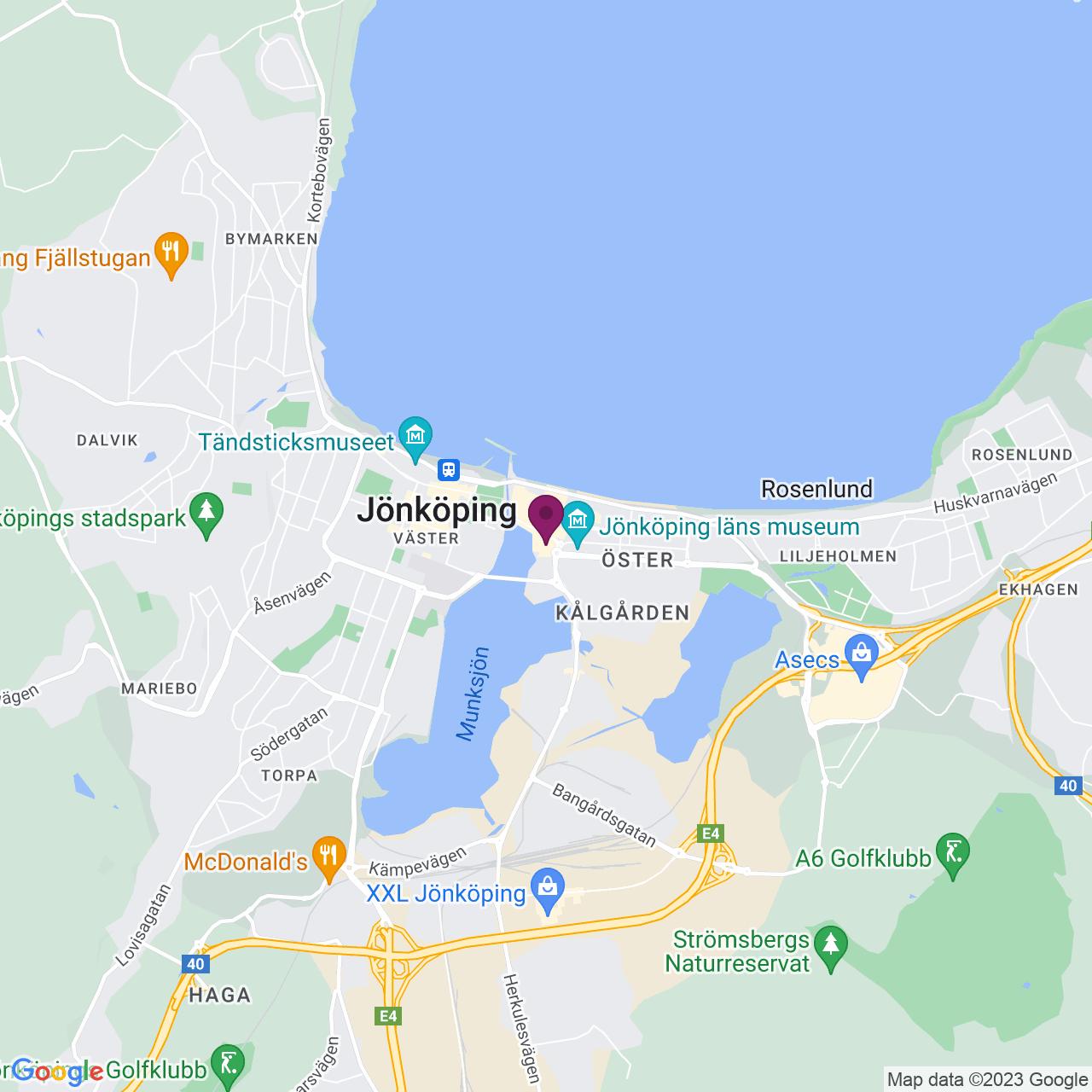 Kort över Lantmätargränd 44