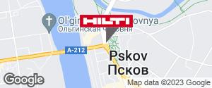 Региональный представитель Hilti в г. Псков