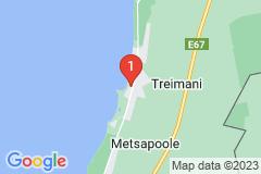 Google Map of Rantamökki Pärnumaalla- Treimani II kerros 6 hengelle