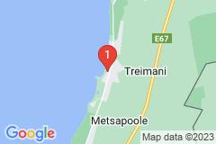 Google Map of Rantamökki Pärnumaalla- Treimani I kerros 3 hengelle