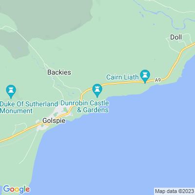 Dunrobin Castle Location