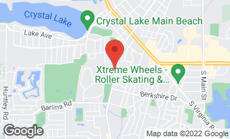 Map of 570 Mchenry Avenue CRYSTAL LAKE, IL 60014