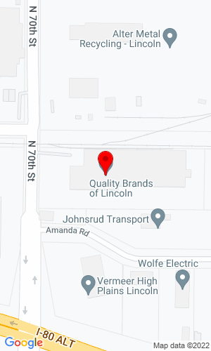 Google Map of Vermeer High Plains 5700 North 70th  PO Box 83084 , Lincoln , NE, 68501