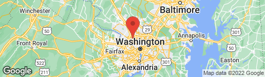 Map of 5701 ABERDEEN PLACE BETHESDA, MD 20814