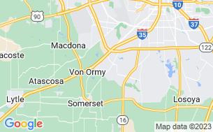 Map of Hidden Valley RV Park