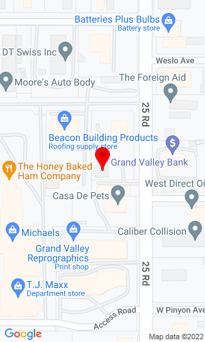 Google Map of West Park Truck Equipment, Inc. 571 25 Road, Grand Junction, CO, 81505