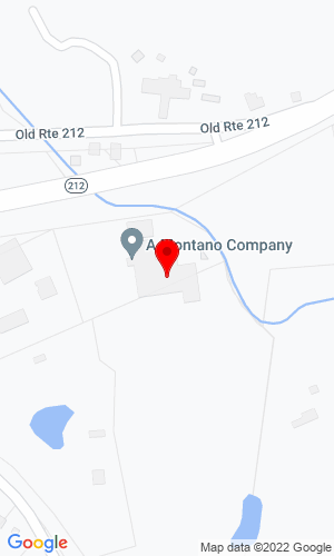 Google Map of A. Montano Co., Inc. 571 Route 212, Saugerties, NY, 12477