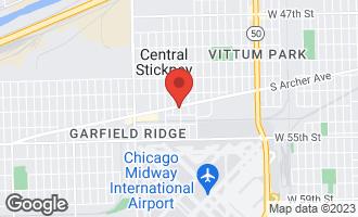 Map of 5725 South Archer Avenue CHICAGO, IL 60638