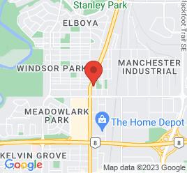 Google Map of 5728+Macleod+Trail+S.%2CCalgary%2CAlberta+T2H+0J6