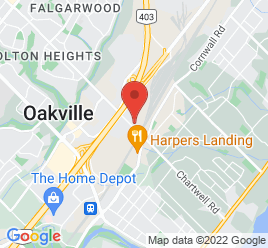 Google Map of 573+Chartwell+Road%2COakville%2COntario+L6J+4A8
