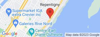 Google Map of 575++Notre-Dame%2CRepentigny%2CQuebec+J6A+2T6