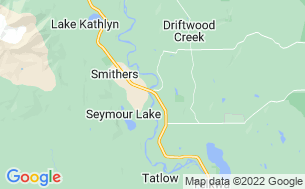 Map of Smithers Par 3 & RV