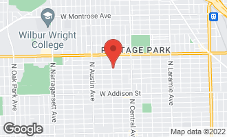 Map of 5750 West Berenice Avenue CHICAGO, IL 60634