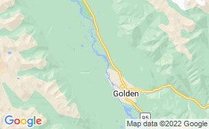 Map of Golden Golf Club RV Park