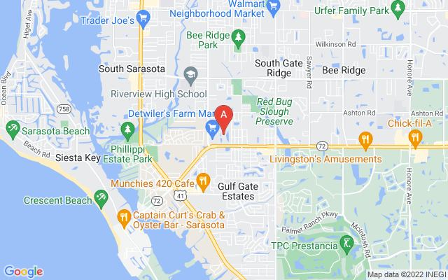 5774 Ashton Lake Dr #6 Sarasota Florida 34231 locatior map