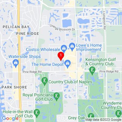 Google Map of 5790 Yahl St. Suite 101  Naples, FL 34109
