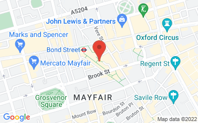 Map of 58 Molton Street