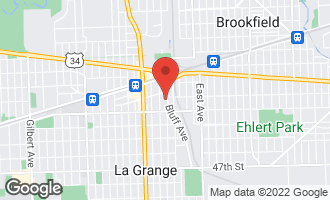 Map of 58 South Bluff Avenue LA GRANGE, IL 60525