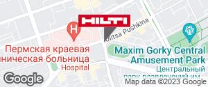 Региональный представитель Hilti в г. Пермь