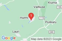 Google Map of Lomamökki Mäekindsi